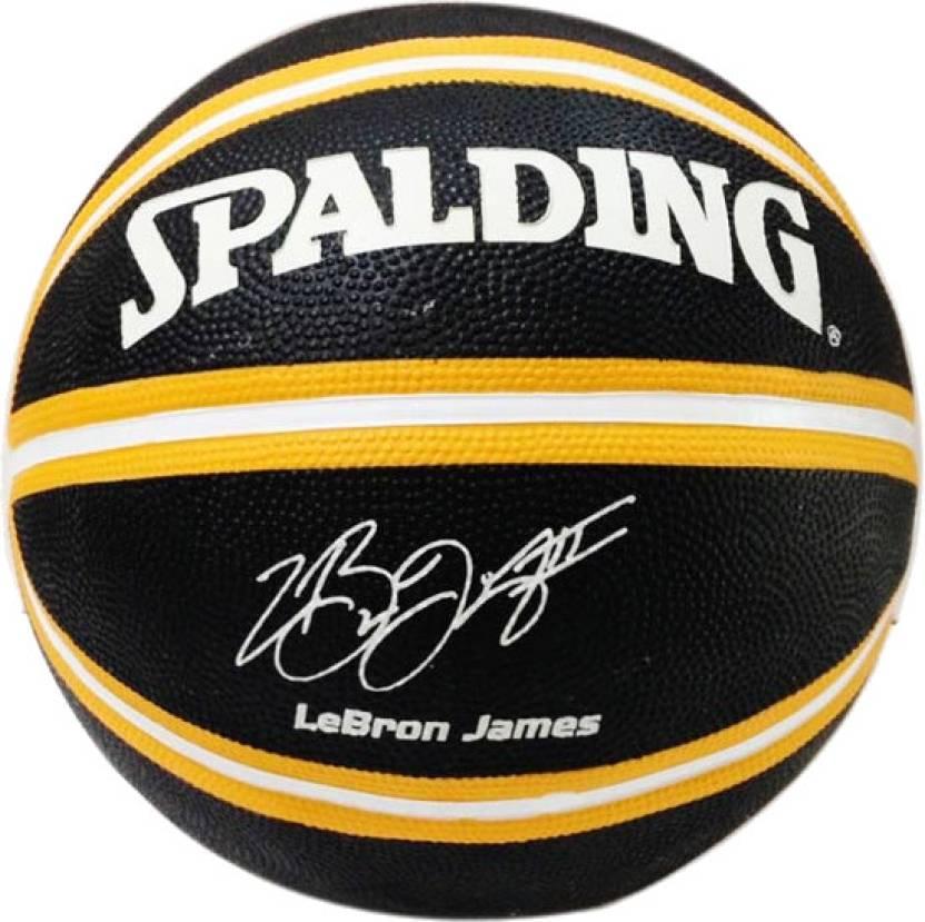 2af38200d3b SPALDING LeBron James Basketball - Size  7 - Buy SPALDING LeBron ...