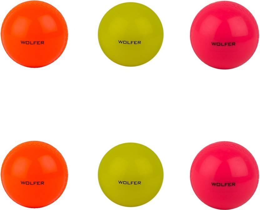 Wolfer Wind Cricket Ball -   Size: Standard