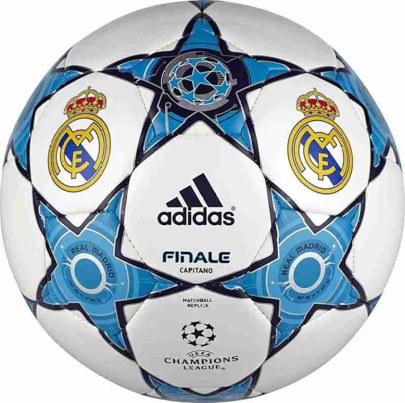 ADIDAS Real Madrid UEFA Champions League Football - Size  5 (Pack of 1 20b383a35