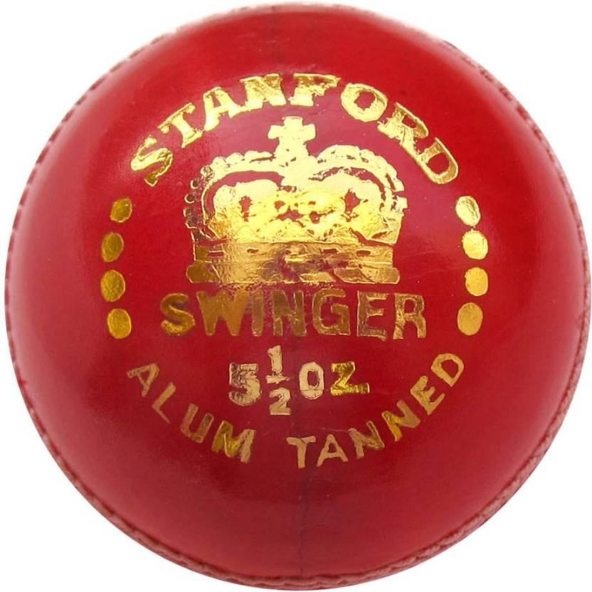 Stanford Swinger Cricket Ball -   Size: 5,  Diameter: 2.5 cm