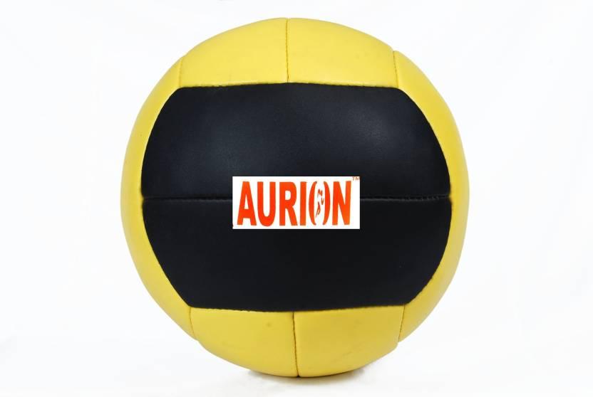 Aurion Leather300 Medicine Ball -   Size: 3,  Diameter: 20 cm