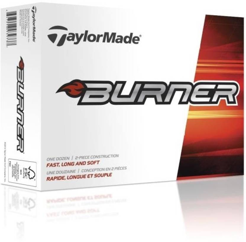 TaylorMade Burner Golf Ball -   Size: 3