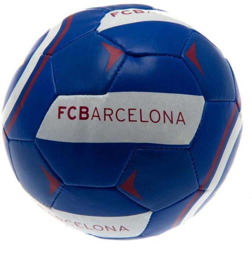 F.C. Barcelona 4 inch Soft Ball AR Football -   Size: Small,  Diameter: 10.16 cm