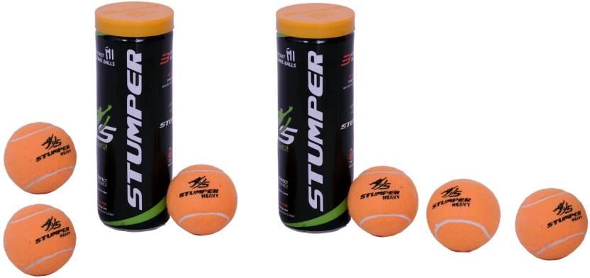 Stumper Tennis Rubber Ball -   Size: 4