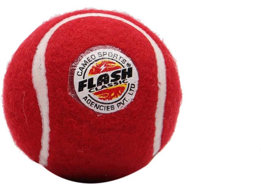 Flash Classic Cricket Ball -   Size: NA,  Diameter: 6 cm