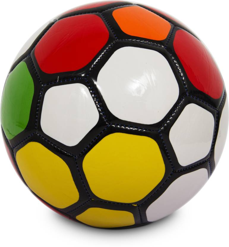 Burn SCS1578 Multicolour Football -   Size: 5,  Diameter: 22 cm