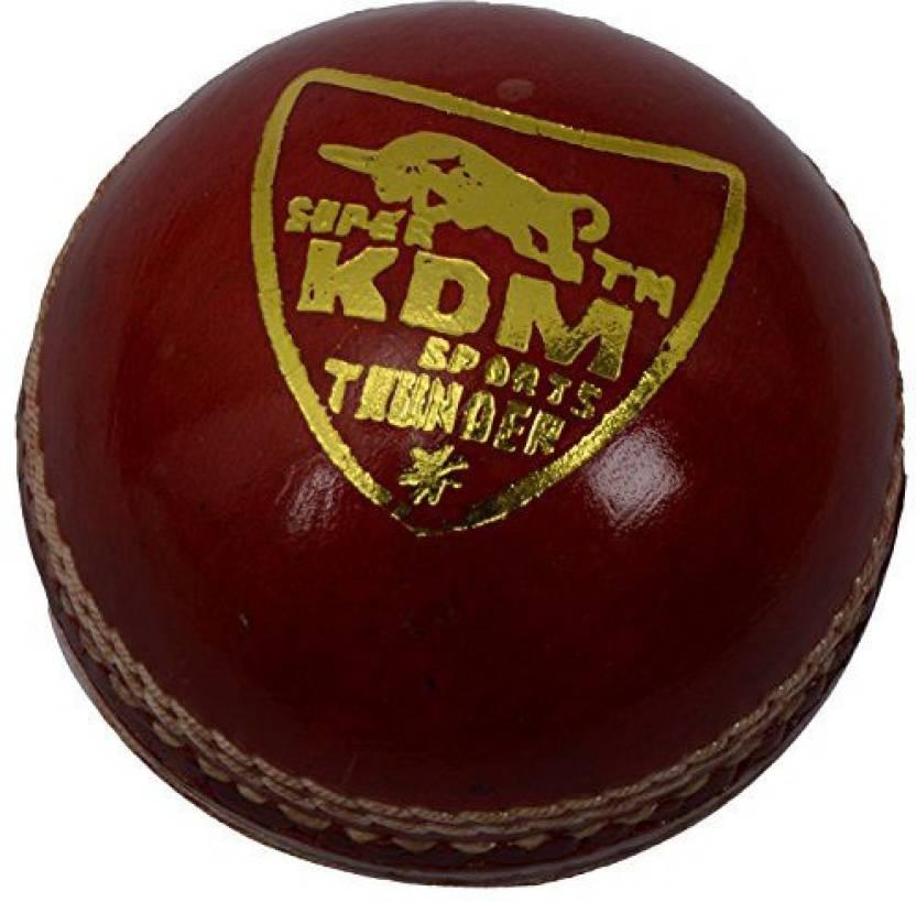 Kdm Sports Thunder Cricket Ball -   Size: 5,  Diameter: 7 cm
