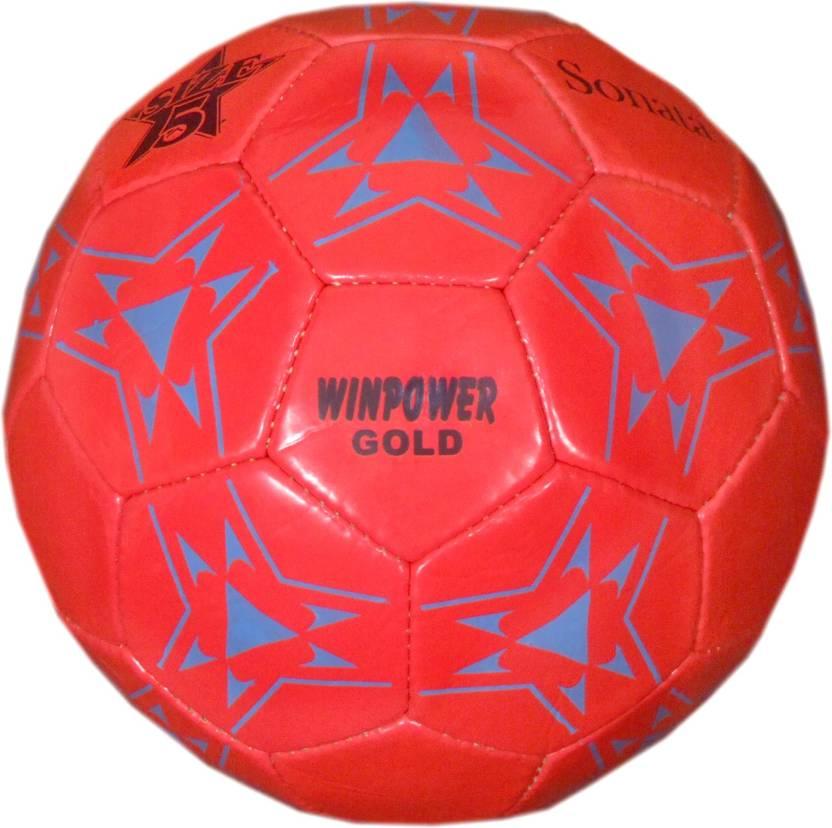 Winpower GOLD Football -   Size: 5,  Diameter: 25 cm