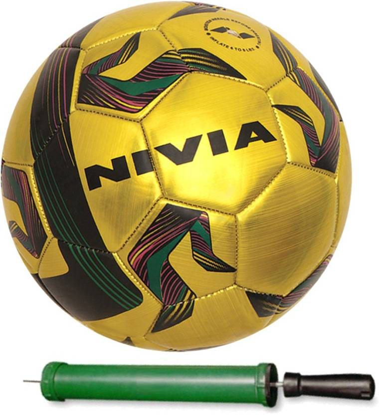 Nivia Fire Ball Size-1 Football With Pump for Small Child (5 inch diameter)  Football - Size  1 (Pack of 1 e9e424f58f01f