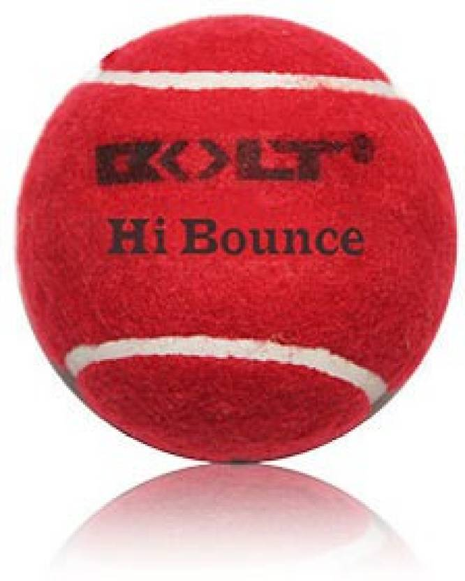 Bolt Hi-Bounce Cricket Ball -   Size: Standard