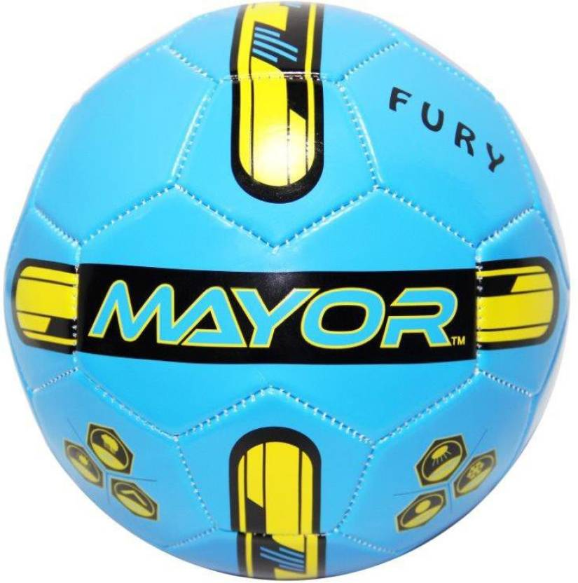 Mayor Fury Football -   Size: 3,  Diameter: 3 cm