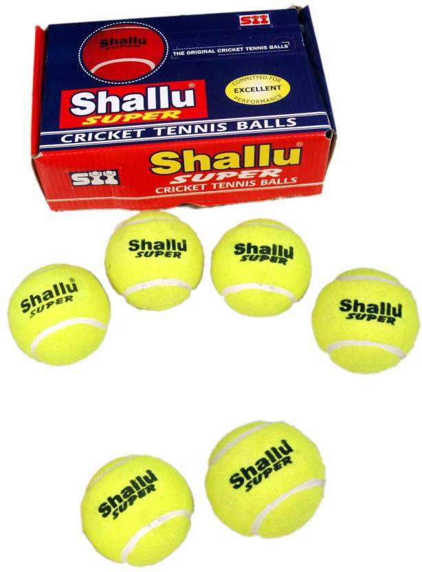 SII Shallu Super Cricket Ball -   Size: 6,  Diameter: 22 cm