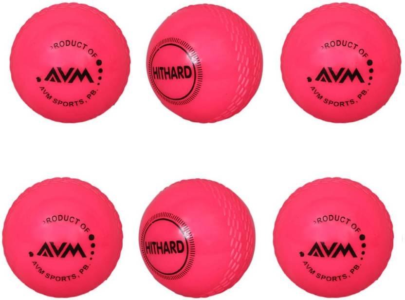 AVM Windball-10 Cricket Ball -   Size: Standard,  Diameter: 6.5 cm
