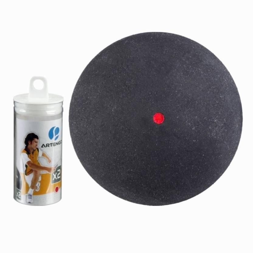 Artengo  by Decathlon Dot X2 Squash Ball -   Size: 6.5