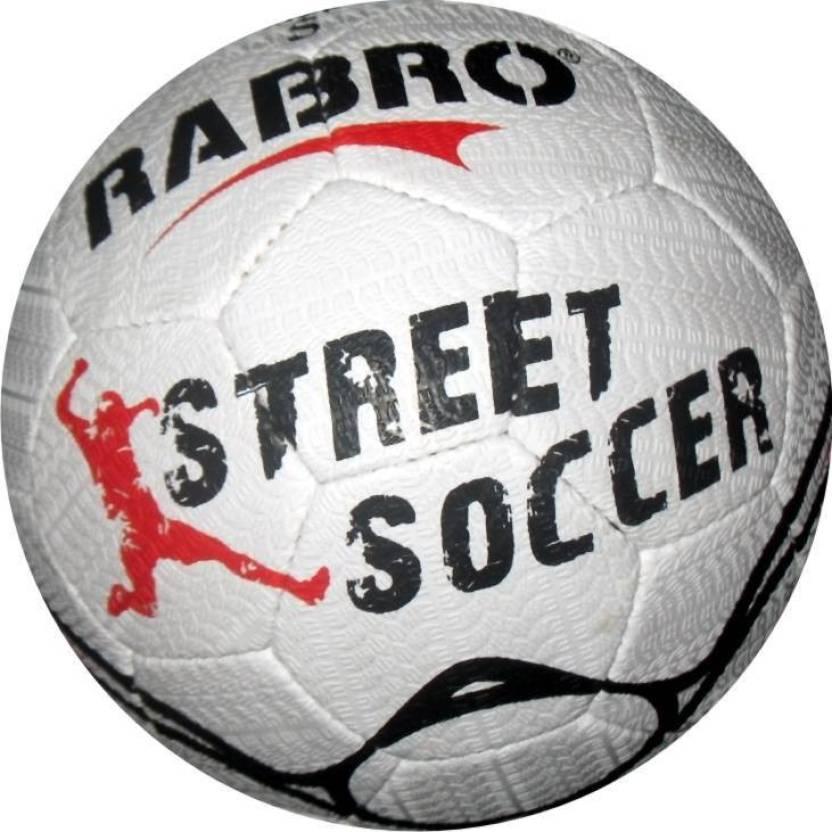 Rabro Street Soccer Football -   Size: 5,  Diameter: 22 cm