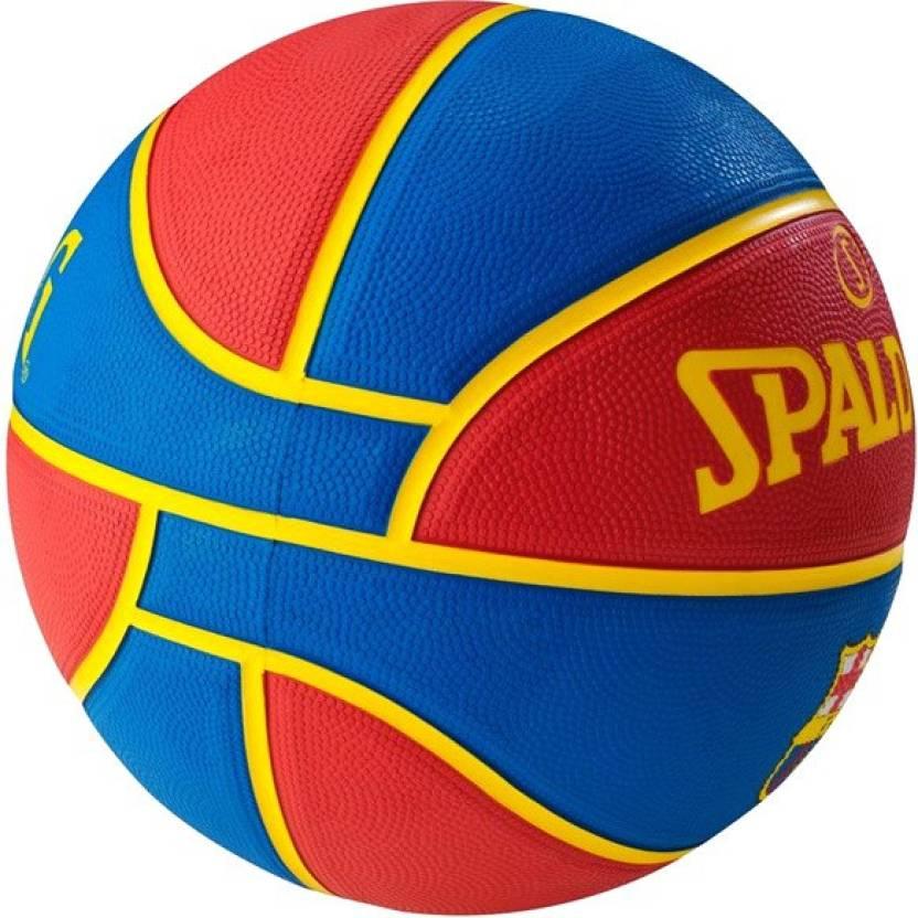 Spalding Barcelona Basketball -   Size: 7,  Diameter: 24.25 cm