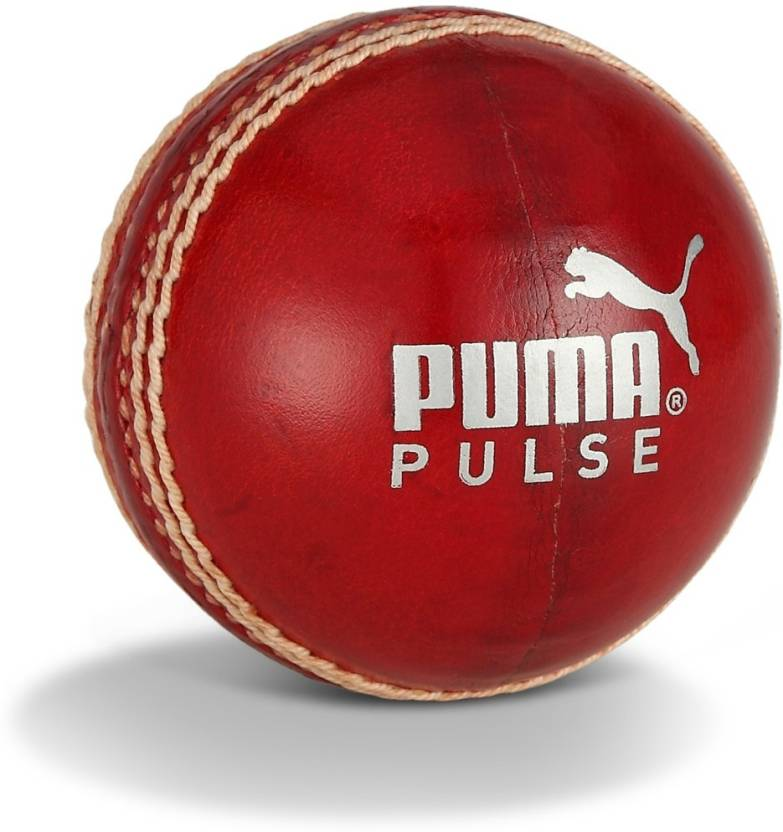 Puma Pulse Leather Cricket Ball -   Size: 5.5