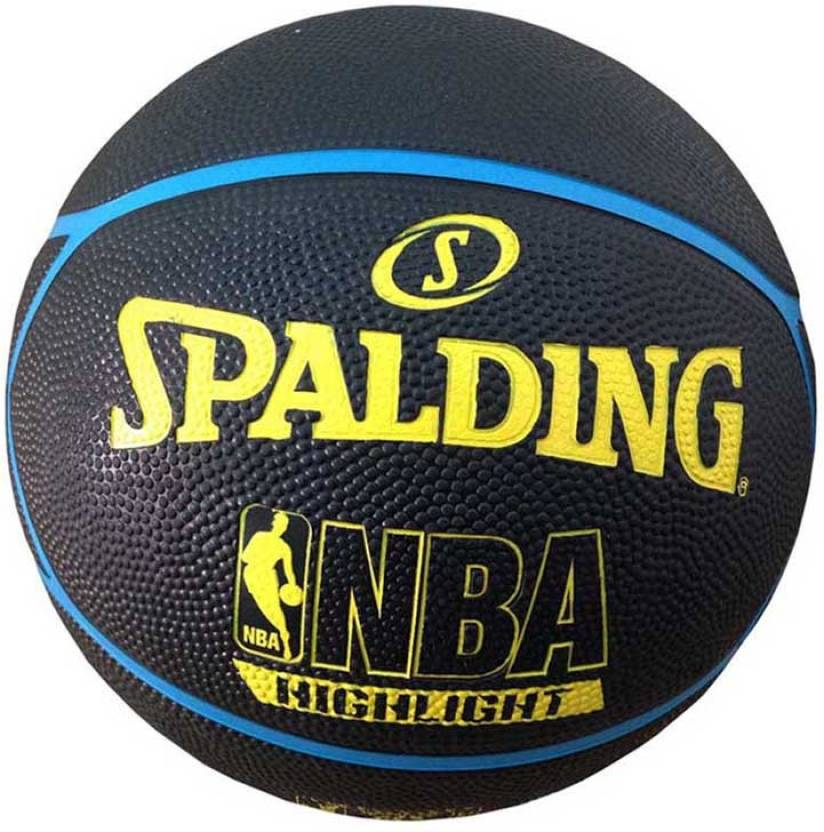 Spalding Fast S Highlight Basketball -   Size: 7,  Diameter: 24.25 cm