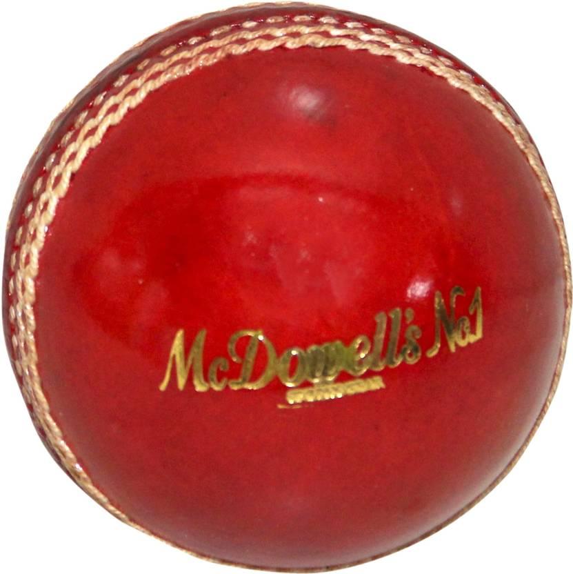 Mc Dowell's No.1 Sports Gear Centurade Cricket Ball -   Size: 5