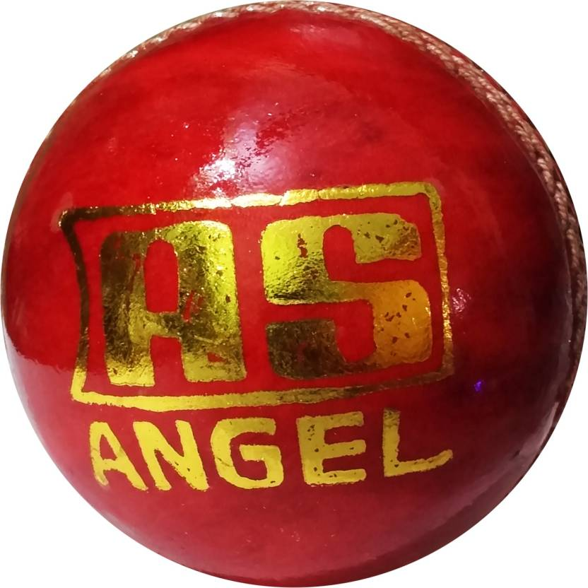 Angel Sports Practice Leather Cricket Ball -   Size: Standard