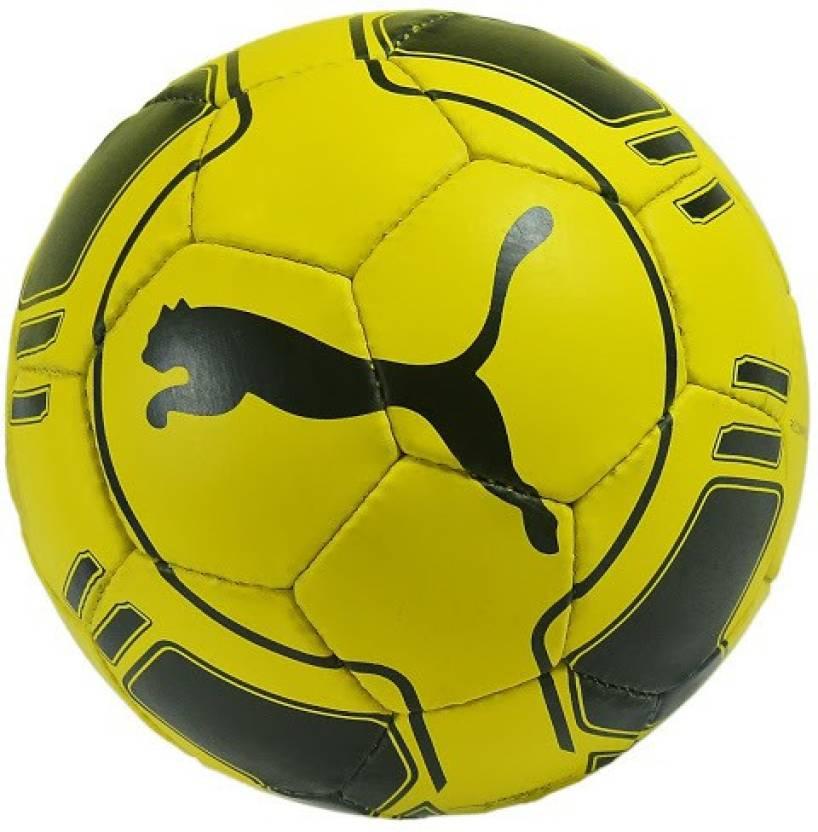 9fddc9b70a45 Puma Evo Power Hard Ground 4 Football - Size: 5 (Pack of 1, Yellow, Black)