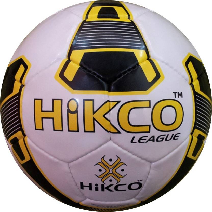 Hikco League Yellow Football   Size: 5 Pack of 1, Yellow