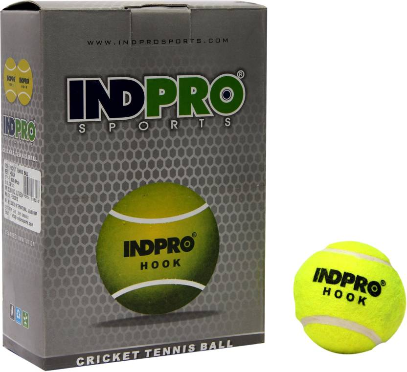 Indpro Hook (Light) Tennis Ball -   Size: 1,  Diameter: 20 cm