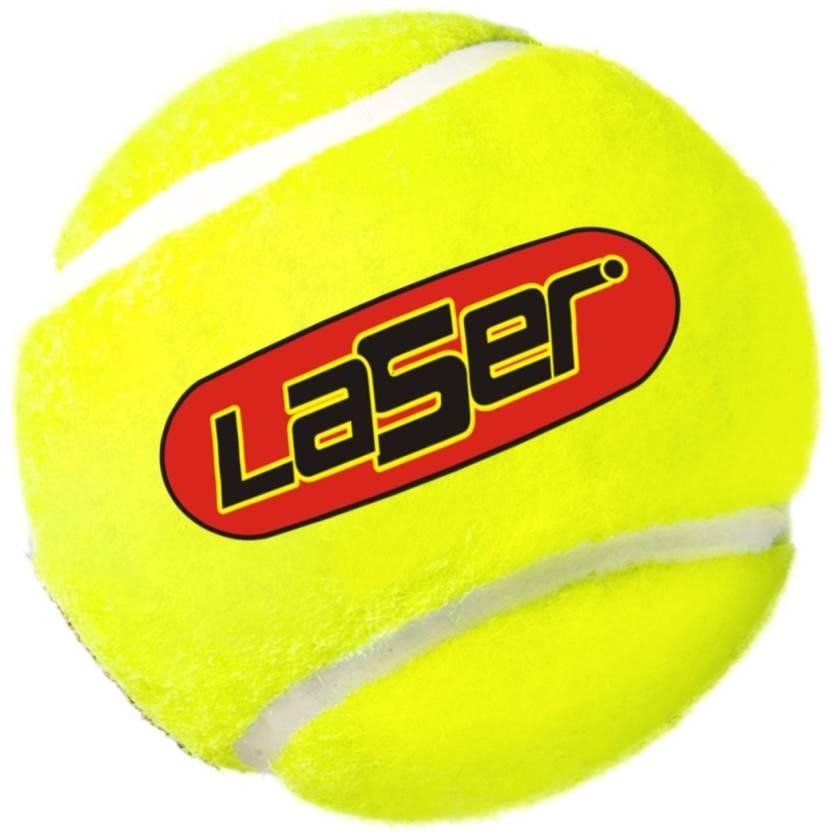 Laser Cricket Tennis Ball -   Size: Standard