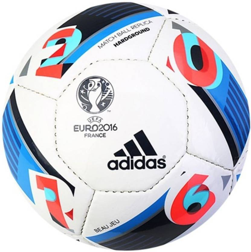 low priced a9227 ff8cc ADIDAS Euro16 Hrdgrnd Football - Size 5 (Pack of 1, Multicolor)