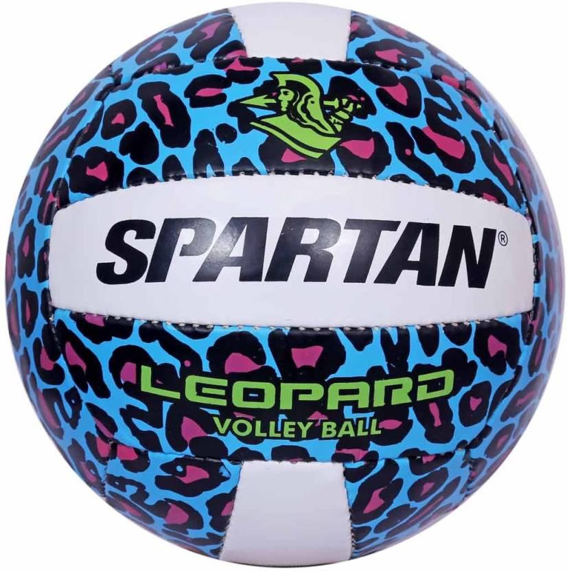 Spartan Leopard Volleyball -   Size: 5,  Diameter: 2.5 cm