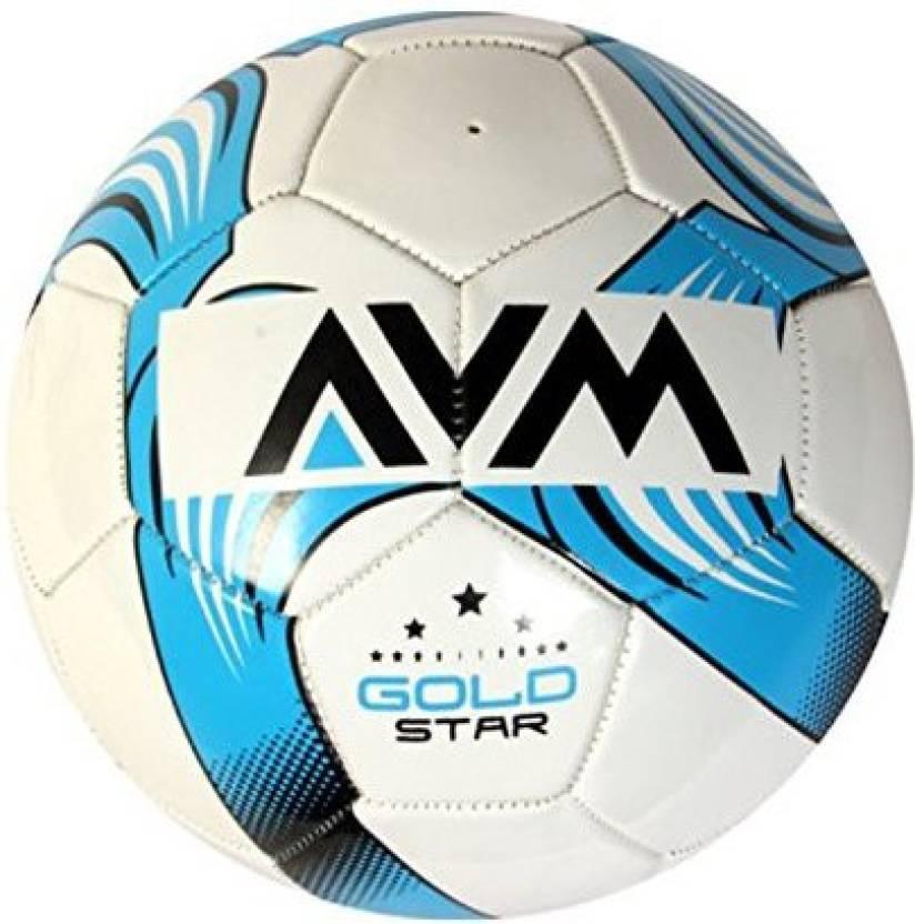 AVM Avm Gold Star Foot Ball Size 5 Football -   Size: 5