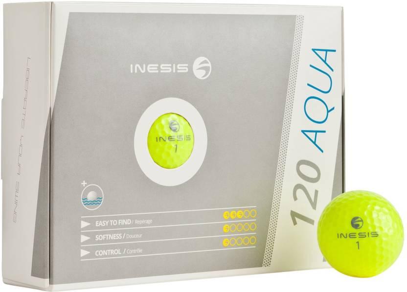 Inesis  by Decathlon Aqua 120 Golf Ball -   Size: Standard,  Diameter: 4.27 cm