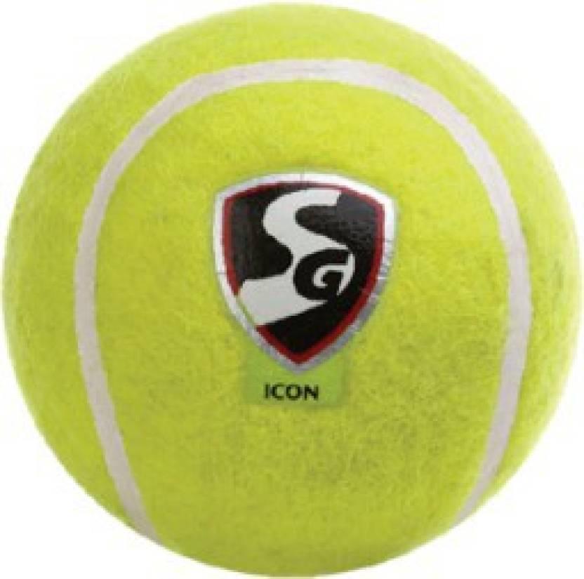S.G ICON Tennis Ball -   Size: NA,  Diameter: 2.5 cm