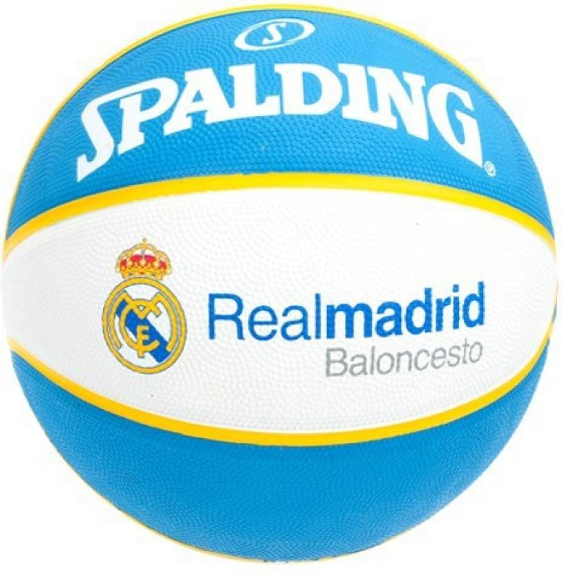 Spalding Real Madrid Basketball -   Size: 7,  Diameter: 24.25 cm