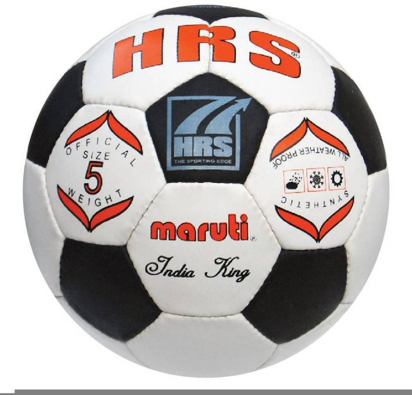 HRS India King B/W Football -   Size: 5,  Diameter: 70 cm