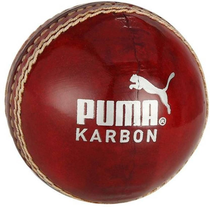 Puma Karbon Red Lb Cricket Ball -   Size: 5