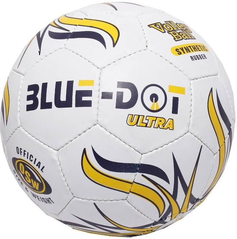 Blue Dot Ultra Volleyball -   Size: 4,  Diameter: 21 cm
