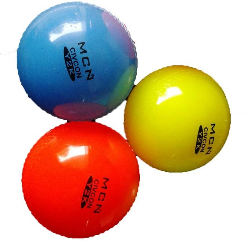 Arnav SPEED HI QUALITY SOFT WIND Cricket Rubber Ball Pack of 6, Multicolor