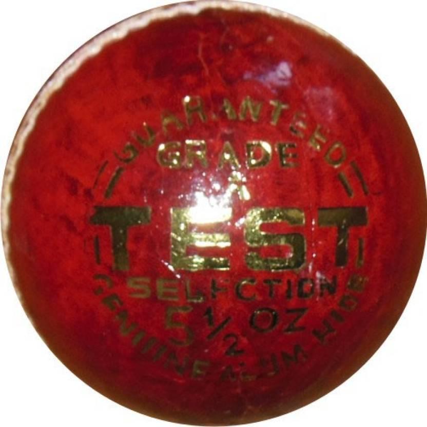 Elan Leather Test Cricket Ball -   Size: 5,  Diameter: 23 cm