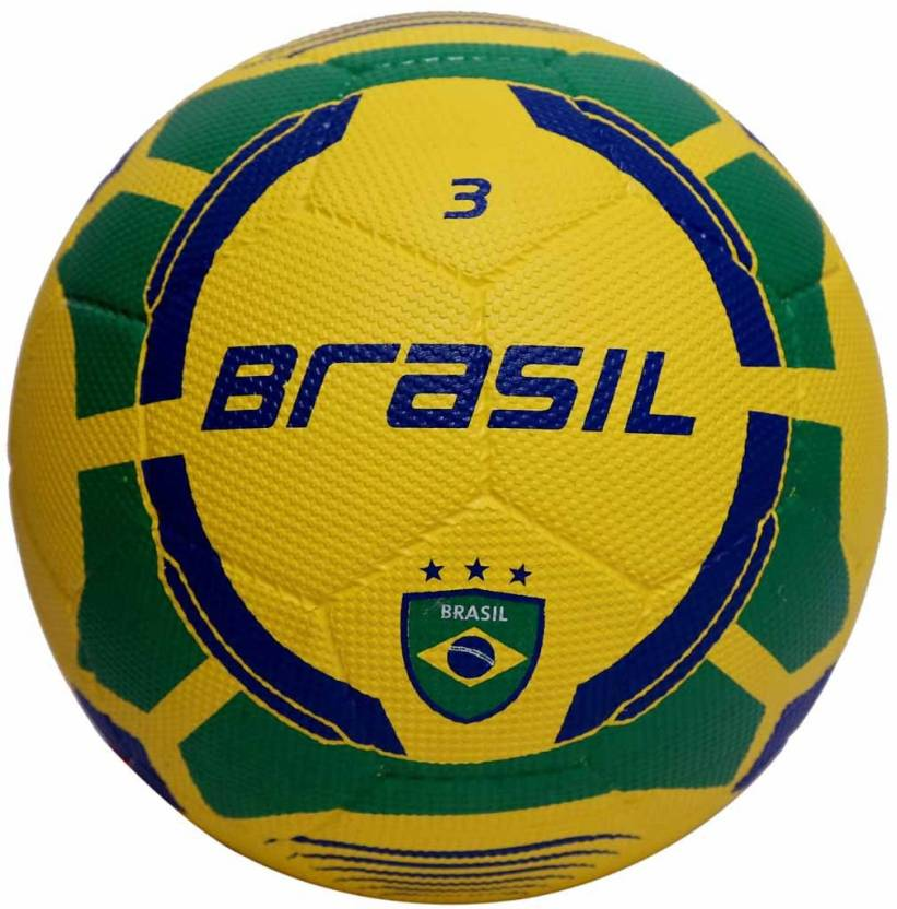 Vector X Brasil Rubber Moulded Football -   Size: 3