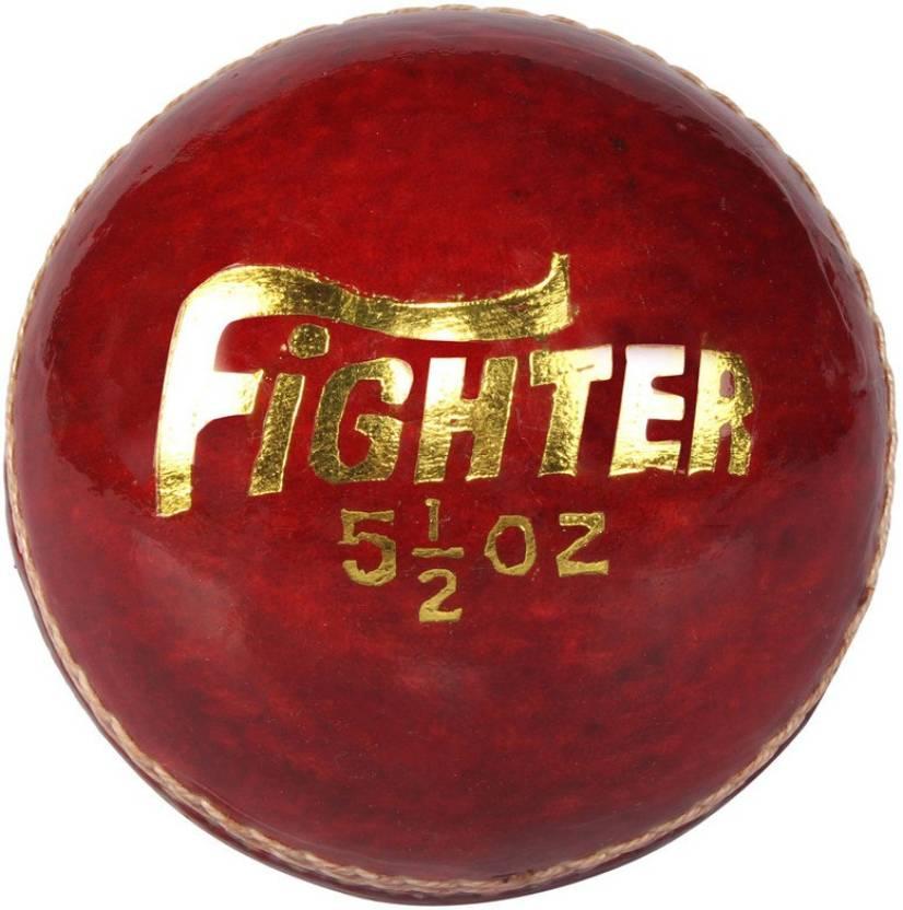 Mark Fighter Cricket Ball -   Size: 5,  Diameter: 2.5 cm