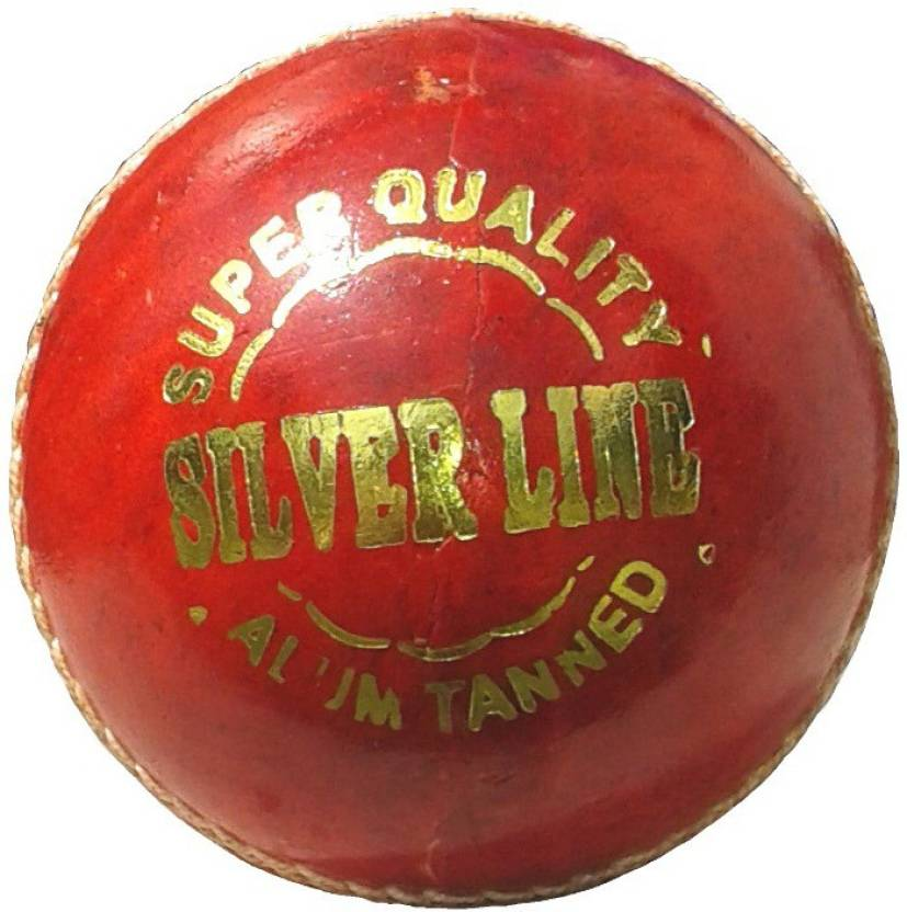 VSP Silver Line Cricket Ball -   Size: 6,  Diameter: 6 cm