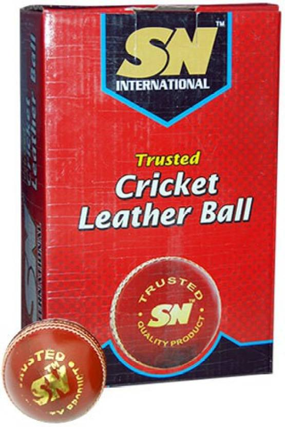 SN Crown Cricket Ball -   Size: Standard