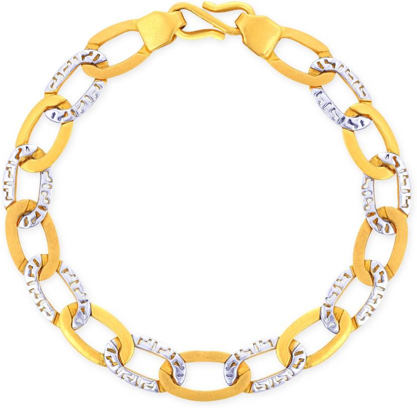 f06d7fdf5c9 Malabar Gold and Diamonds Yellow Gold, White Gold Bracelet Price in India -  Buy Malabar Gold and Diamonds Yellow Gold, White Gold Bracelet Online at  Best ...