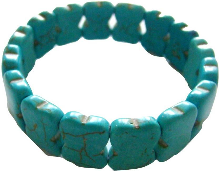 Store Utsav Crystal Turquoise Bracelet