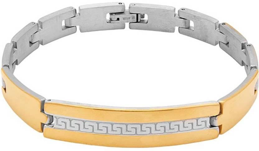 152b916cbc557 Dare for Voylla Stainless Steel Bracelet Price in India - Buy Dare ...