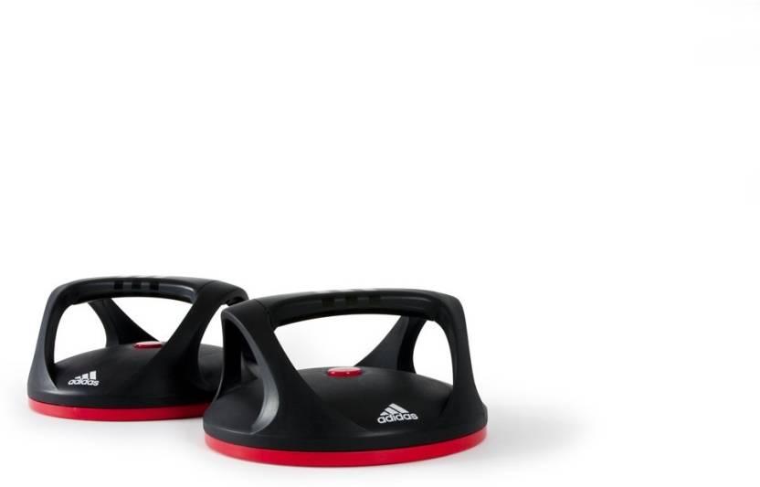 Adidas Swivel Push Up Bars Floor Training Bar