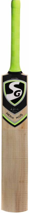 SG Nexus Plus Kashmir Willow Cricket Bat 950   1250 g