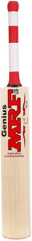 MRF GENIUS UNIQUE SIZE-5 English Willow Cricket  Bat