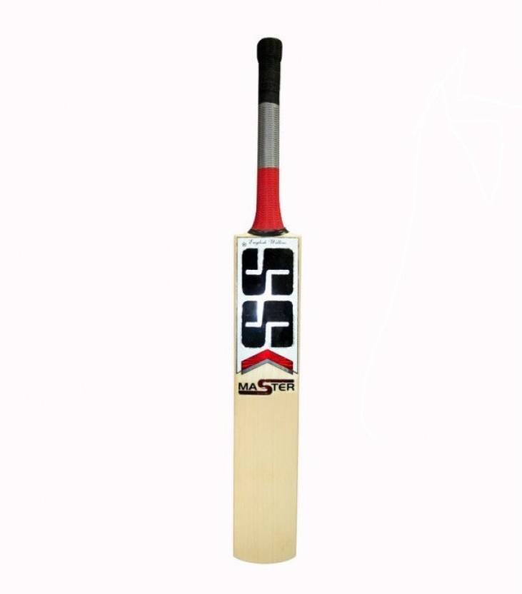 SS Master English Willow Cricket  Bat